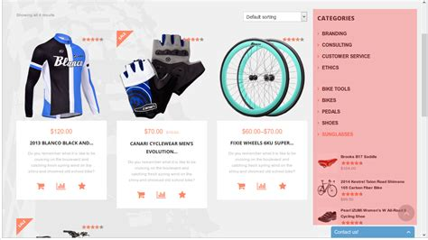 woocommerce category page template images templates