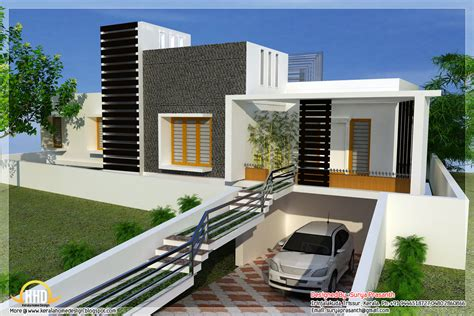 new home house plans new contemporary mix modern home designs kerala home