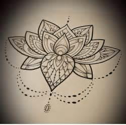 Lotus Flower Mandala Lotus Mandala Flower Ideas