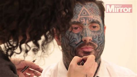 face tattoo girl mp3 do people look at you funny when you have a full face