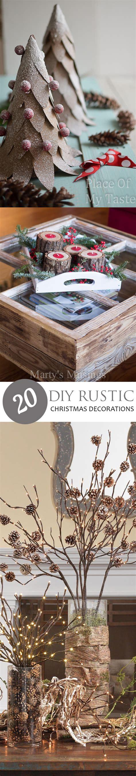 homemade home decor 20 diy rustic christmas decorations pickled barrel