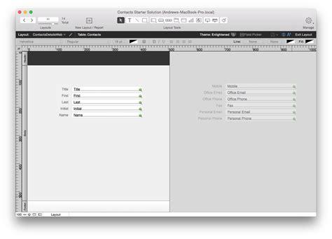 web layout mode filemaker php api layout tips databuzz