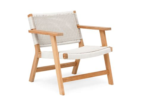 Barwon low seat outdoor chairs by eco outdoor