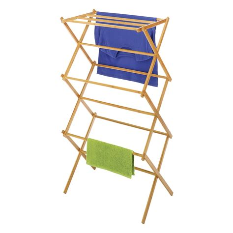 Fold Drying Rack by Whitmor Folding Drying Rack Bamboo Save 60