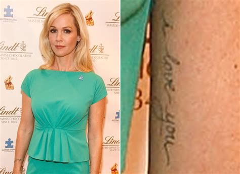 jennie garth s tattoo actress reveals post split ink at