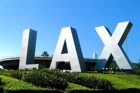Lax To Signs Of The World Lax Letters Landmarksignsincblog