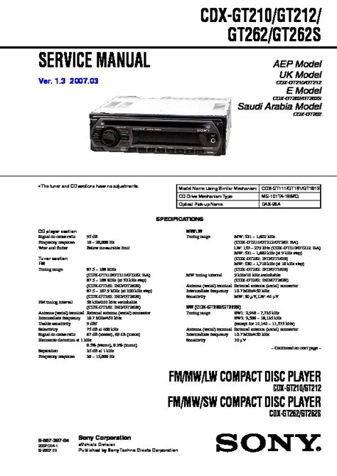 car stereo wiring diagram for cdx gt210 repair wiring scheme