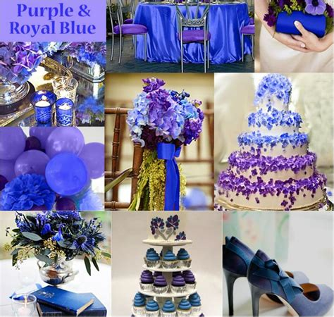 top 4 royal blue wedding ideals wedding ideas wedding color combinations purple wedding