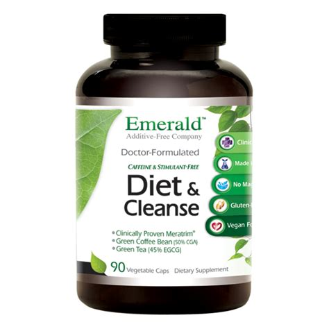 Detox 90 Dietary Supplement by Diet Cleanse Emerald Supplements