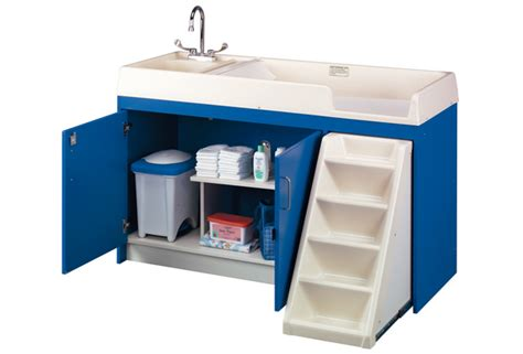 toddler changing table ultimate toddler changing table with sink