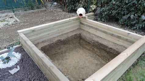 Comment Fabriquer Un Bassin Hors Sol by Ordinary Construire Un Bassin En Bois Hors Sol 7 Bassin