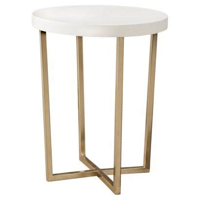 Gold End Table Target by I Clean This And Target On
