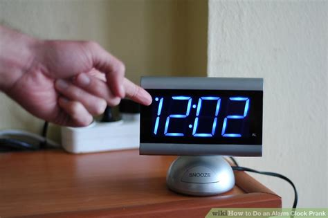 how to do an alarm clock prank 4 steps with pictures