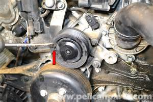 mercedes benz w203 water pump replacement 2001 2007