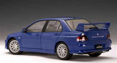 2002 Mitsubishi Lancer Evolution 7 Biru Skala 64 Jdm Tuner autoart mitsubishi lancer evo vii blue 20232 in 1 64 scale mdiecast