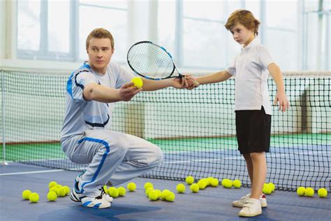 tennis couch tennis lessons for kids london bodyswot tennis