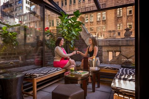 best bed and breakfast near nyc library hotel manhattan dining and entertainment at