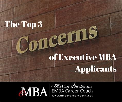 Best Mba Applicants by The Top 3 Concerns Of Executive Mba Applicants Deal With