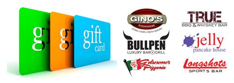 Places That Accept Visa Gift Cards - gift cards progressive dining group