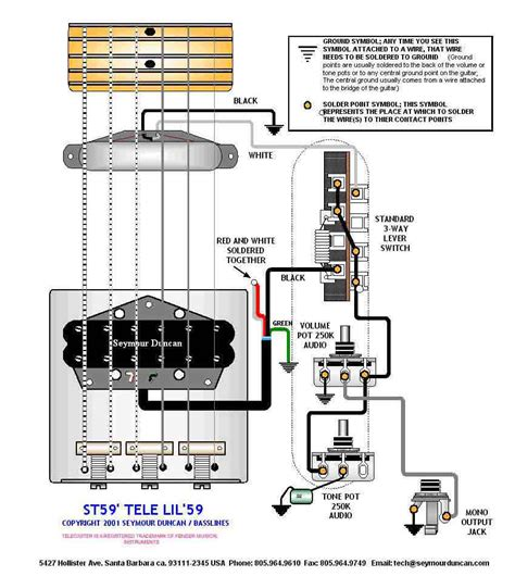 seymour duncan 59 wiring diagram efcaviation