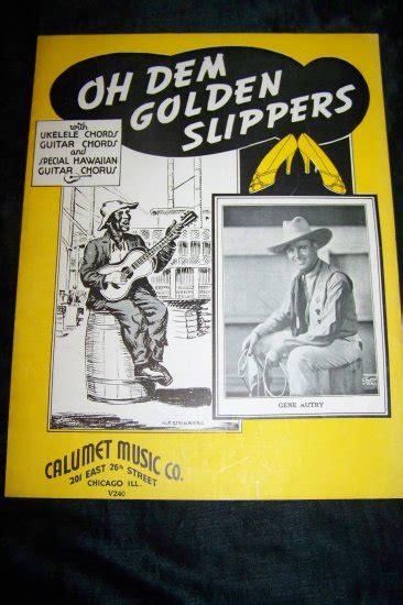 oh dem golden slippers vintage 1935 black americana oh dem golden slippers gene