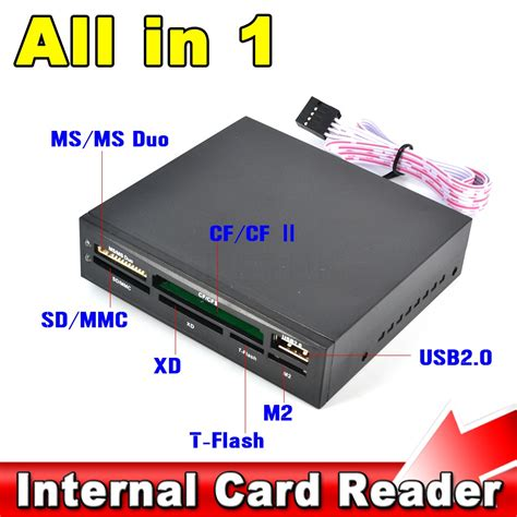 Card Reader All In One Usb 2 0 all in 1 card reader usb 2 0 3 5 quot floopy bay