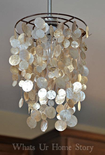 Seashell Chandelier Diy 17 Best Images About Sea Shell Light Fixtures On Pinterest Chrome Finish 5 Light Chandelier