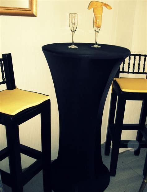 Mantel de licra para mesas cocteleras altas   NUEVA