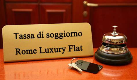 tassa soggiorno tassa di soggiorno rimborso oneri rome luxury flat