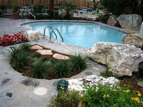 Im Pool Garten Idee