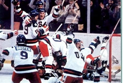 Miracle Hockey Free This Day In History 1980 U S Hockey Team Makes Miracle On