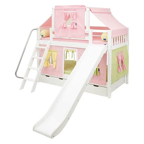 bunk beds with slide top 10 kids loft beds with slides
