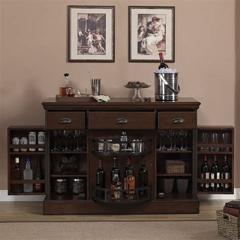 bar console gabriella console bar by american heritage home bars