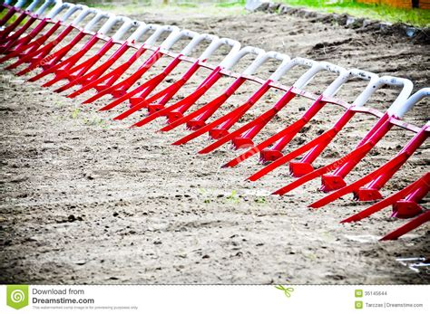 how to start racing motocross starting gates before start at motocross ride stock photo