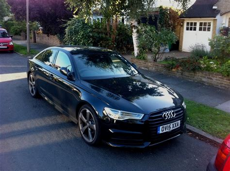Audi A6 Schwarz by Audi A6 2 0 Tdi Ultra Review Business Car Manager