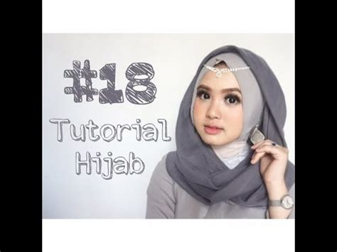 youtube tutorial hijab kondangan 18 tutorial hijab segi empat paris rawis wisuda pesta