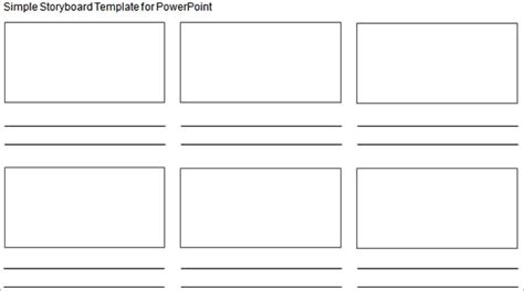Storyboard Template Word Peerpex Storyboard Powerpoint Template
