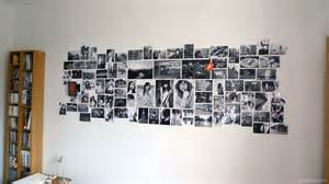 And ended up as a perfect black and white photo wall via
