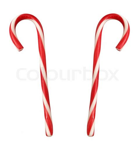 lollypop stick pictures xmas lollipop canes isolated on white up stock photo colourbox