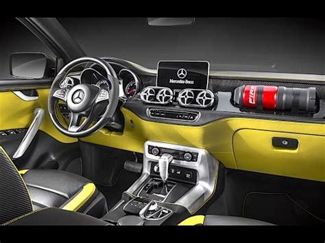 mercedes interior 2017 in detail mercedes x class
