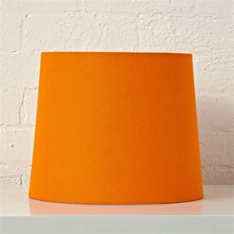orange table l shade mix and match orange table l shade the land of nod
