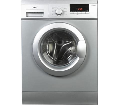 Buy Logik L712wms13 Washing Machine Silver Free Washing Machine Laundry