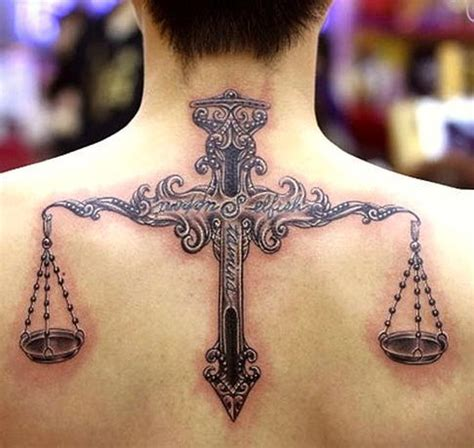 scales of justice libra tattoos 179 best tattoos on back images on time