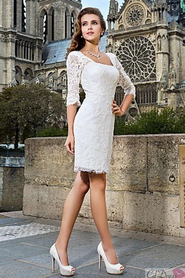 Hochzeitskleid Kurz Langarm by Langarm Kleid At