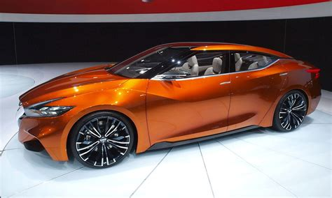 red nissan sports car updated 2014 nissan sports sedan concept brings 3 5 in