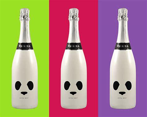 Interior Designs In Home panda champagne funny bottle design 1 designstown