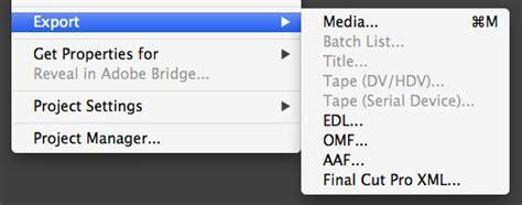 adobe premiere pro quicktime export the adobe premiere pro export guide part one codecs