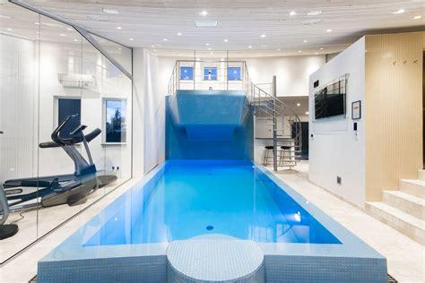 home design og indretning app luksus sommerhus i bl 229 vand udlejes fitness wellness pool