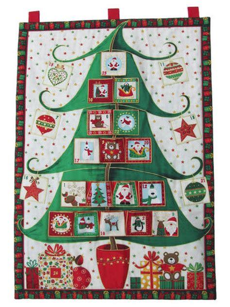 christmas tree fabric advent calendar advent calendars