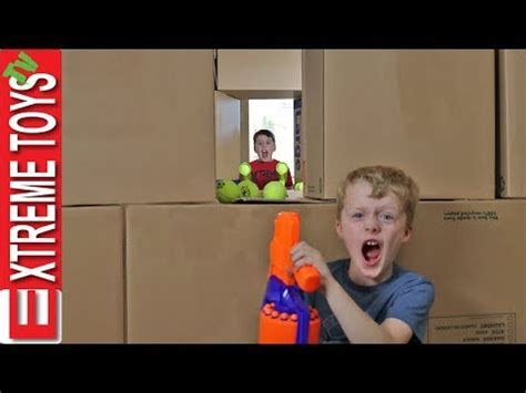 haunted doll attacks ethan and cole sneak attack squad part 3 nerf battle with ethan